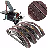 Generic Mixed 40-120 Grit Powerfile Sanding Belts (Multicolour) - Pack of 20