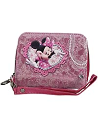Disney Minnie Billetero Mujer Nina Chica Monedero Bolsillo