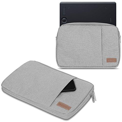 Wacom Intuos Pro S M Hülle Tasche Grafiktablett Schutzhülle Schwarz / Grau Case, Farbe:Grau, Tablet Modell für:Wacom Intuos Pro S