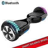 Dragon Hoverboard con ruote da 6,5' Monopattino Elettrico Autobilanciato Self Blance Scooter Skateboard elettrico Smart Self Balance Board colore disegno (Bianco)