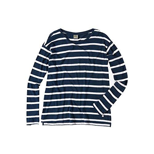 Bench Brio Design Stripes T-shirt à manches longues bleu