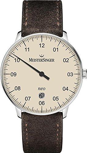 MeisterSinger Neo NE403 Einzeiger Automatikuhr Klassisch schlicht