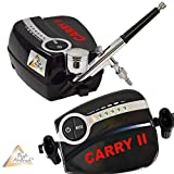 Die besten Airbrush-kits - Profi AirBrush Set CARRY II -LIMITIERTE AKTION!- Airbrush Bewertungen