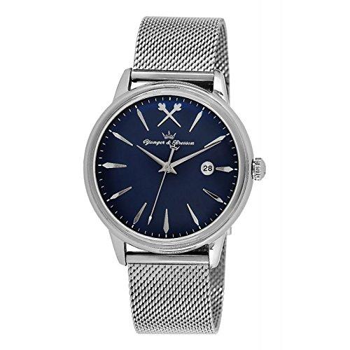 Reloj Yonger & Bresson hombre Azul–HMC 052/GM–en Promo