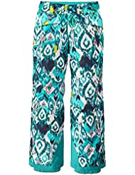 Patagonia 68495-INSB-M - Girls' snowbelle pants   color: inlet ikat: strait blue   talla: m