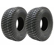Set di due - 13x5.00-6 4ply tappeto erboso pneumatici erba tosaerba giro 13 500 6 pneumatico su tosaerba