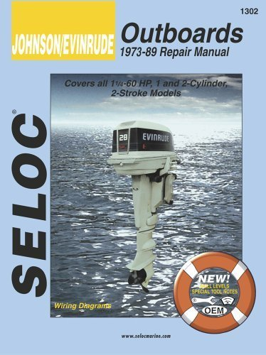 Johnson/Evinrude Outboards 1973-89 Repair Manual 1st edition by Clarence W. Coles, Joan Coles (1985) Paperback