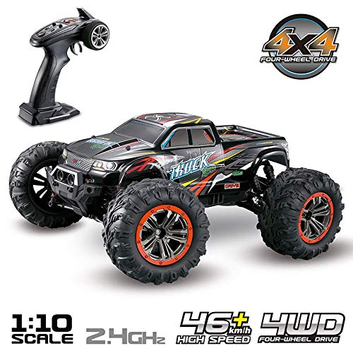 Majome RC Monster Truck Car 1:10 Escala 4WD 2.4 GHz
