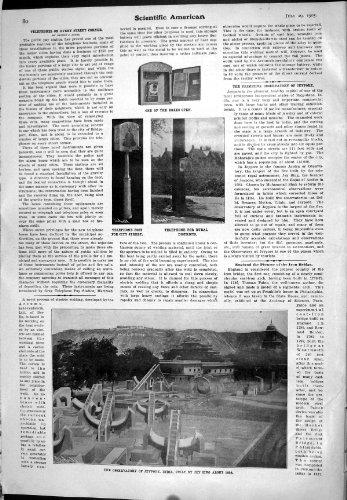 Wissenschaftliches Amerikanisches Observatorium Jeypore Indien der Telefon Po... Po-telefone