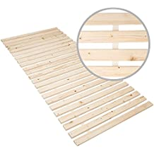 Panorama24 Rollrost Basic 140x200 (11 Latten) Rolllattenrost Lattenrost Bettrost Rollroste Holzlatten Latten Rost