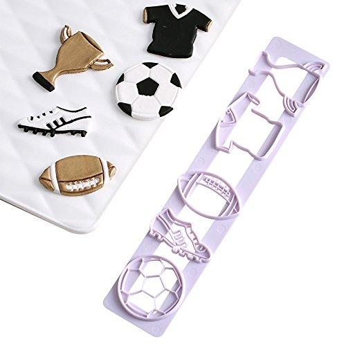 e Ausstechformen Fondant Kuchen Cookie cutters-food Grade ABS Kunststoff ()