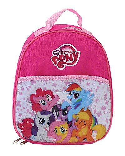 Fun house 005340- zaino per bambini mio mini pony, in poliestere/peva/polietilene rosa, 21x 13,5x 21cm