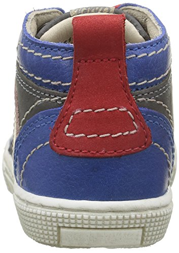Aster Charles, Chaussures Premiers Pas Bébé Garçon Gris (Gris Bleu)