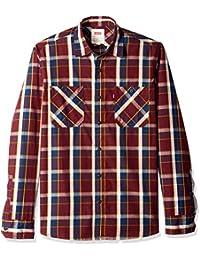 cb791a1046 Botones Camisa de Hombre Levi s 3LGLW1298 Manga Larga nRvxYxa1q