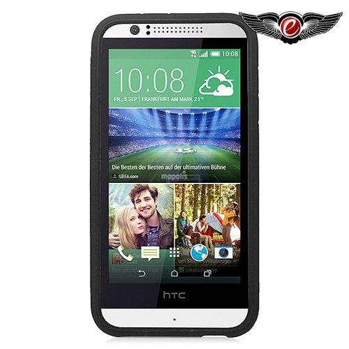 Eagle Cell Hybrid-Schutzhülle für HTC Desire 510, aus thermoplastischem Polyurethan (TPU), schwarz/red