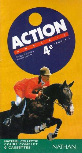 Action : 4e LV1, pour la classe (coffret 6 cassettes)