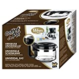 Wpro UCF200 ORIGINAL Glaskanne Kanne Kaffeekanne Krug 9-12 Tassen Universal