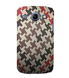 EPICCASE army pattern Mobile Back Case Cover For Samsung Galaxy Core (Designer Case)