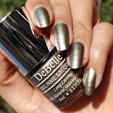 #4: DeBelle Metallic Gold Nail Polish 8ml - (Rustique Gold)