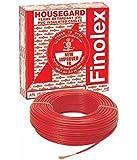 Finolex 1 Sq mm Wire 90 m Coil (Red)