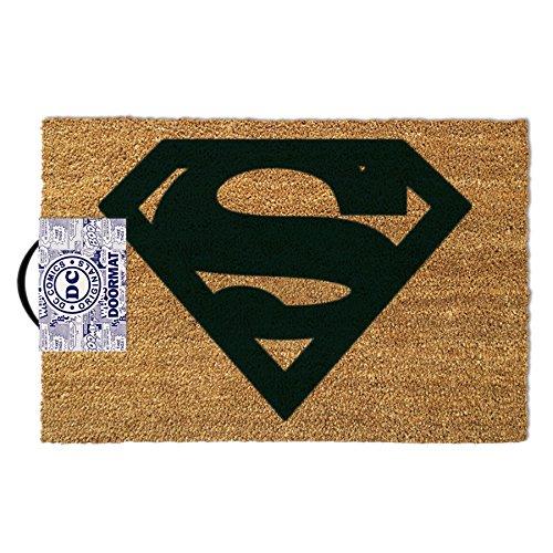 Zerbino ufficiale di Superman DC Comics ufficiale Grip antiscivolo anteriore di qualità.