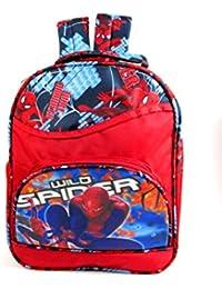Spiderman (Pre Nursery, Nursery & 1st Class) Waterproof School Bag Eh741