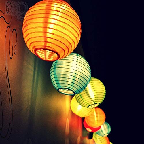 bloatboy Solar Laterne Lichterkette LED Licht String Outdoor Garten Party Dekoration Fairy Light Solar Licht Home Beleuchtung (Mehrfarben) - Lichter Outdoor-string Fairy