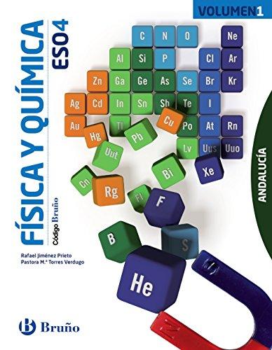 Código bruño física y química 4 eso andalucía - 3 volúmenes