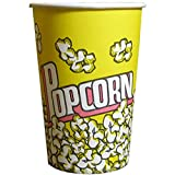 Kukoo Monster Chef Karton Popcorn Boxen/Treat Snack Box Wanne/Party Eimer, 25 Stück, gelb