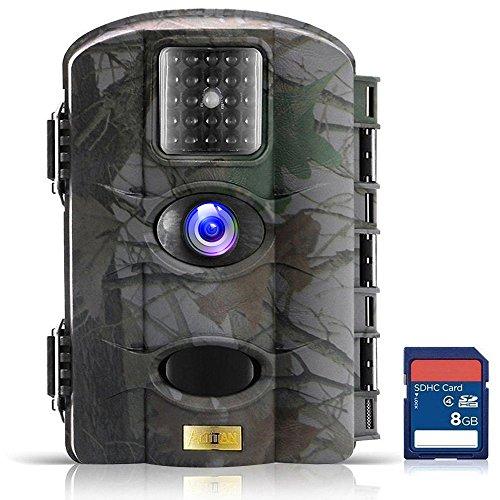 ARTITAN Caméra de Chasse 12MP Trail Camera Animaux Caméra Imperméable IP65 Piège...