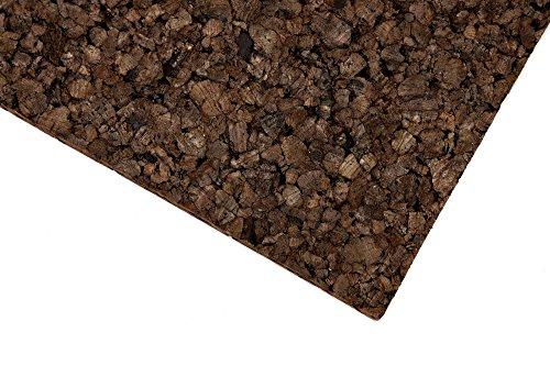 Terrarien-Rückwand aus Kork – 50 x 100 x 2cm ✓ 100% Naturkork ✓ Schadstofffrei ✓ Wasserfest | Korkrückwand, Zierkorkrückwand für Klettermöglichkeiten & zur Deko an der Terrarium-Wand - 2
