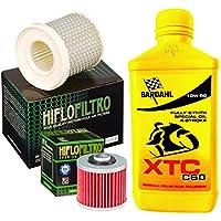 Kit Tagliando Bardahl XTC C6010W50Filtro Aceite Aire Yamaha XV 535Virago/S