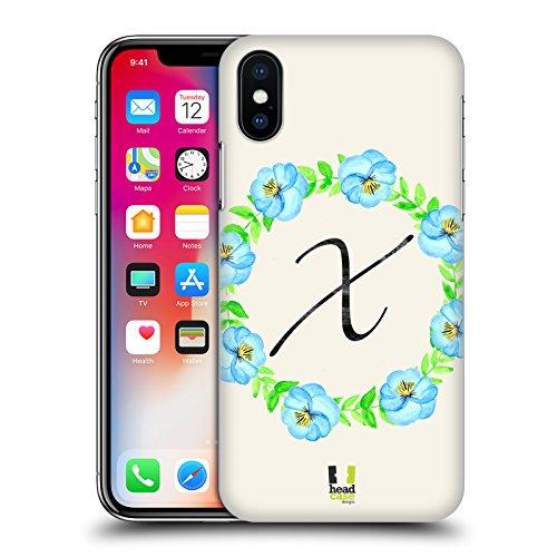 Head Case Designs S Lotus Couronne Florale 2 Étui Coque D'Arrière Rigide Pour Apple iPhone 5c X Pensées