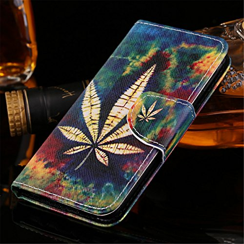 Coque iPhone 5 / 5s / SE PU cuir flip Wallet Etui Case Cover Housse A5