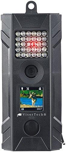 VisorTech Tierkamera: HD-Überwachungs- & Wildkamera mit Nachtsicht, PIR, Farb-Display, IP54 (Wildüberwachungskamera)