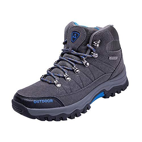 Zapatillas Running Hombre Botas montaña Impermeables Hombre,ZARLLE Botas Hombre Bota Trekking Hombre...
