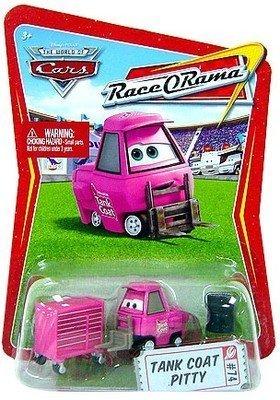 Disney Pixar CARS N2617 RACE O RAMA Tank Coat Pitty #74 - mit ONLINE CODE - OVP (Coat Cars-tank)