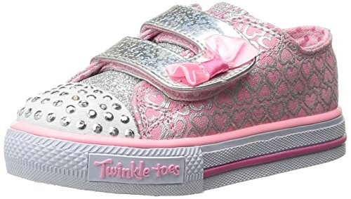 Skechers Twinkle Toes Shuffles Sweet Steps Light-up Sneaker