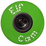 Funky Gifts Elf Cam 45mm Button Badge