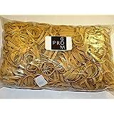 Progom - Gomas Elasticas - 50(Ø32)mm x 5 mm - Natural - Bolsa de 1kg