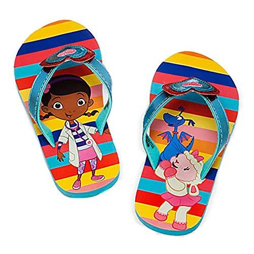 Disney Doc McStuffins Little Girls Flip Flops (11/12)