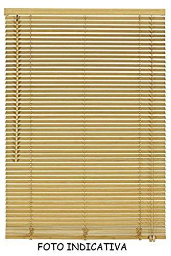 Vetrineinrete tende veneziane in pvc veneziana finestra tenda ripara dal sole marrone beige chiaro scuro effetto legno grigio bianco arredare casa (beige scuro effetto legno, 120 x 160) g55