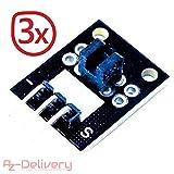 AZDelivery ⭐⭐⭐⭐⭐ 3 x KY-010 Lichtschranke Lichten Schranke Licht Blockierung für Arduino mit gratis eBook!
