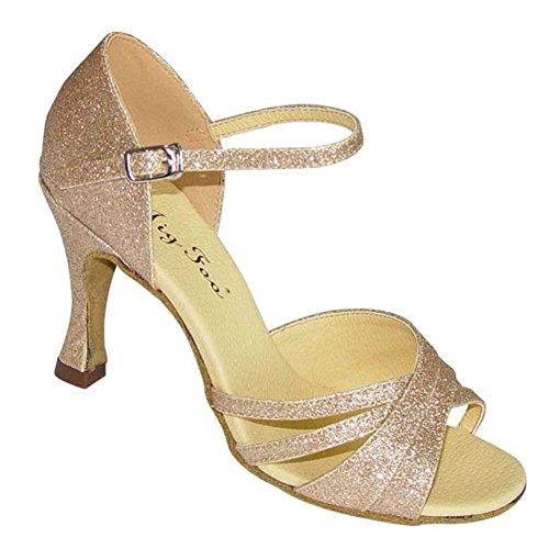 Latin Dance Schuhe für Erwachsene/ Lady weich Tanzschuhe am Ende des/Anti-Schiebe Verschleiß Tanzschuhe B