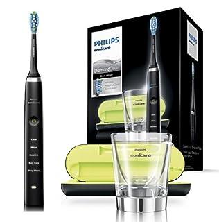 Philips Sonicare DiamondClean Elektrische Zahnbürste HX9359/89 - Schallzahnbürste mit 5 Putzprogrammen, Timer, USB-Reise-Ladeetui & Ladeglas - Schwarz (B074D1TD45) | Amazon Products