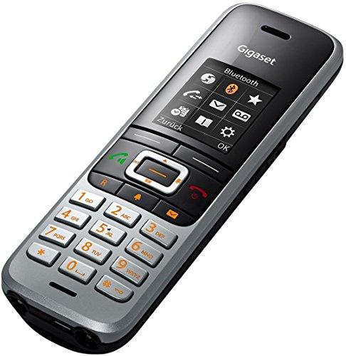 Gigaset S850HX Telefon - Schnurlostelefon / Universal Mobilteil - mit Farbdisplay - Dect-Telefon -  schnurloses Telefon - VoIP - Router - kompatibel -  platin - 5