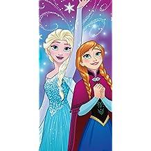 Auswahl Disney Eiskönigin großes Strandtuch Badetuch Bademantel Frozen Elsa Anna