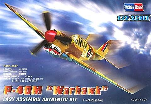 Hobbyboss 1:72 Scale P-40M Warhawk Diecast Model Kit