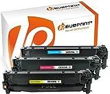 Bubprint 3 Toner kompatibel für HP CC531A CC532A CC533A HP 304A für Color Laserjet CM2320FXI CM2320NF CM2320N MFP CP2020 CP2025 CP2025N CP2025DN C M Y