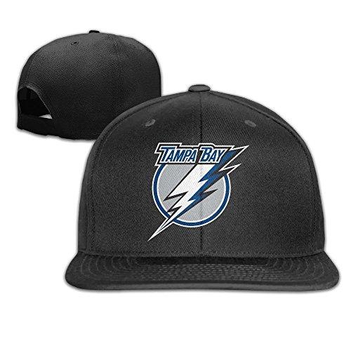YhsukRuny Custom Tampa Bay Lightning Adjustable Baseball Hat/Cap Black -